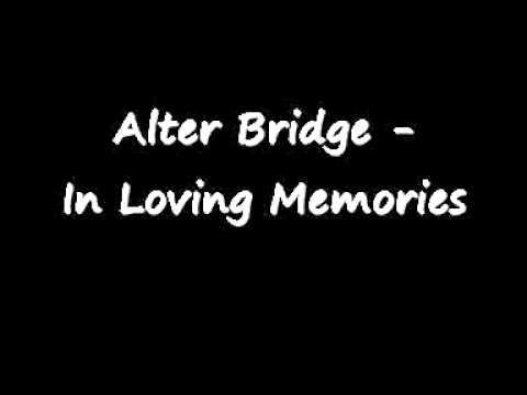 Alter Bridge - In Loving Memory Piano Cover