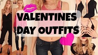 Valentines Day Inspired Outfits // Kallie Kaiser