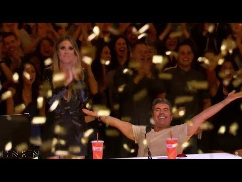 TOP 4 Golden Buzzer America's Got Talent 2017