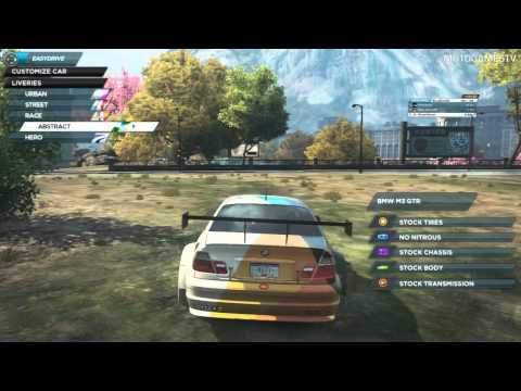 Need for Speed Most Wanted 2012 - Cars from Deluxe DLC Bundle