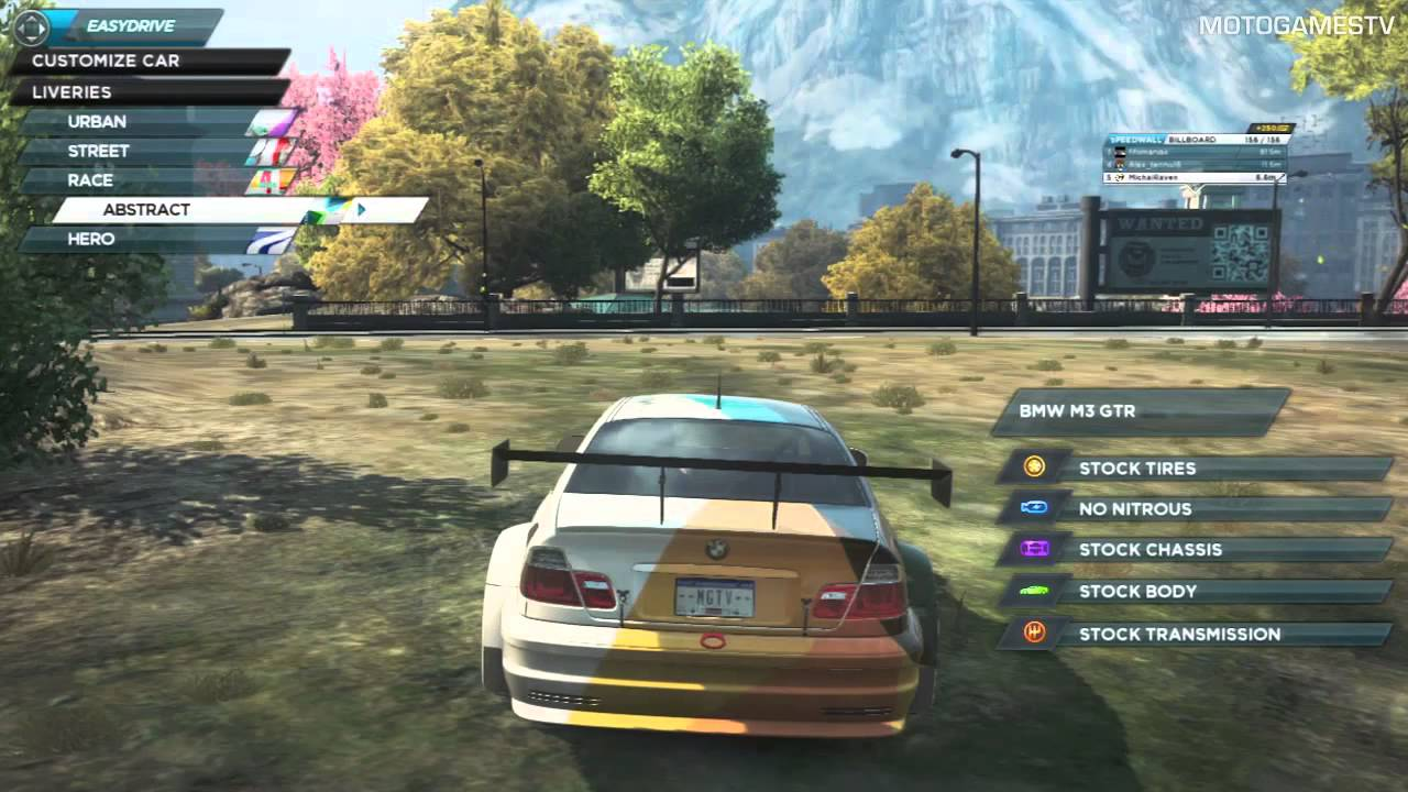 Need For Speed Most Wanted 2012 Cars From Deluxe Dlc