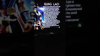 Mortal Kombat Deadly Alliance Kung Lao Bios/Ending