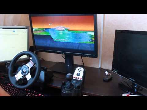 3D Инструктор 2. Учебный автосимулятор 2 - езда на руле Logitech G27