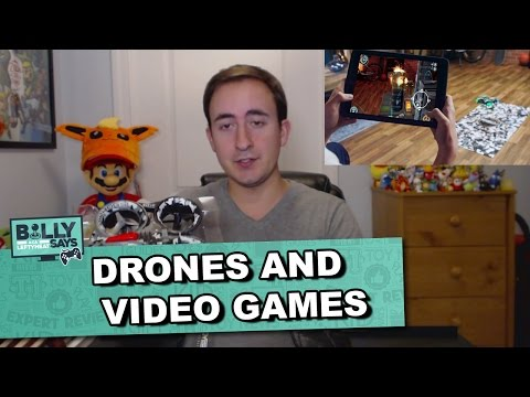 Drones and Video Games for Kids ft. Air Hogs Connect: Mission Drone Billy Says