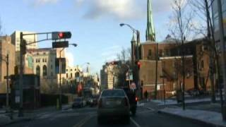Newark, NJ Drive - Central Ave to Harrison Ave