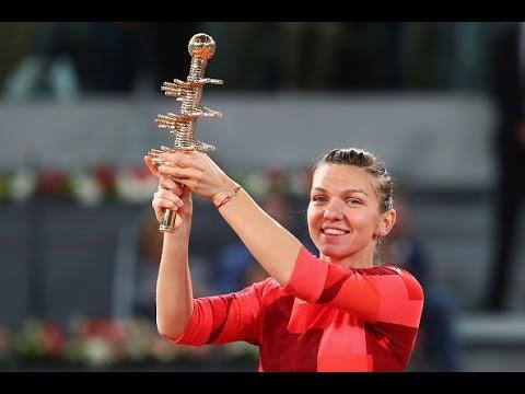 2016 Mutua Madrid Open Final WTA Highlights | Simona Halep vs Dominika Cibulkova