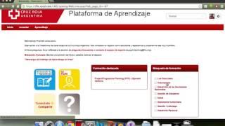 Como registrarse y utilizar Plataforma de aprendizaje FICR