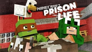 Minecraft Prison Life 2 - FINDING A NEW HIDEOUT!