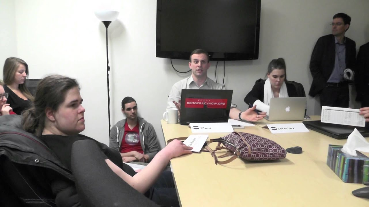 Concordia Student Union Special Council Meeting March 5 2015