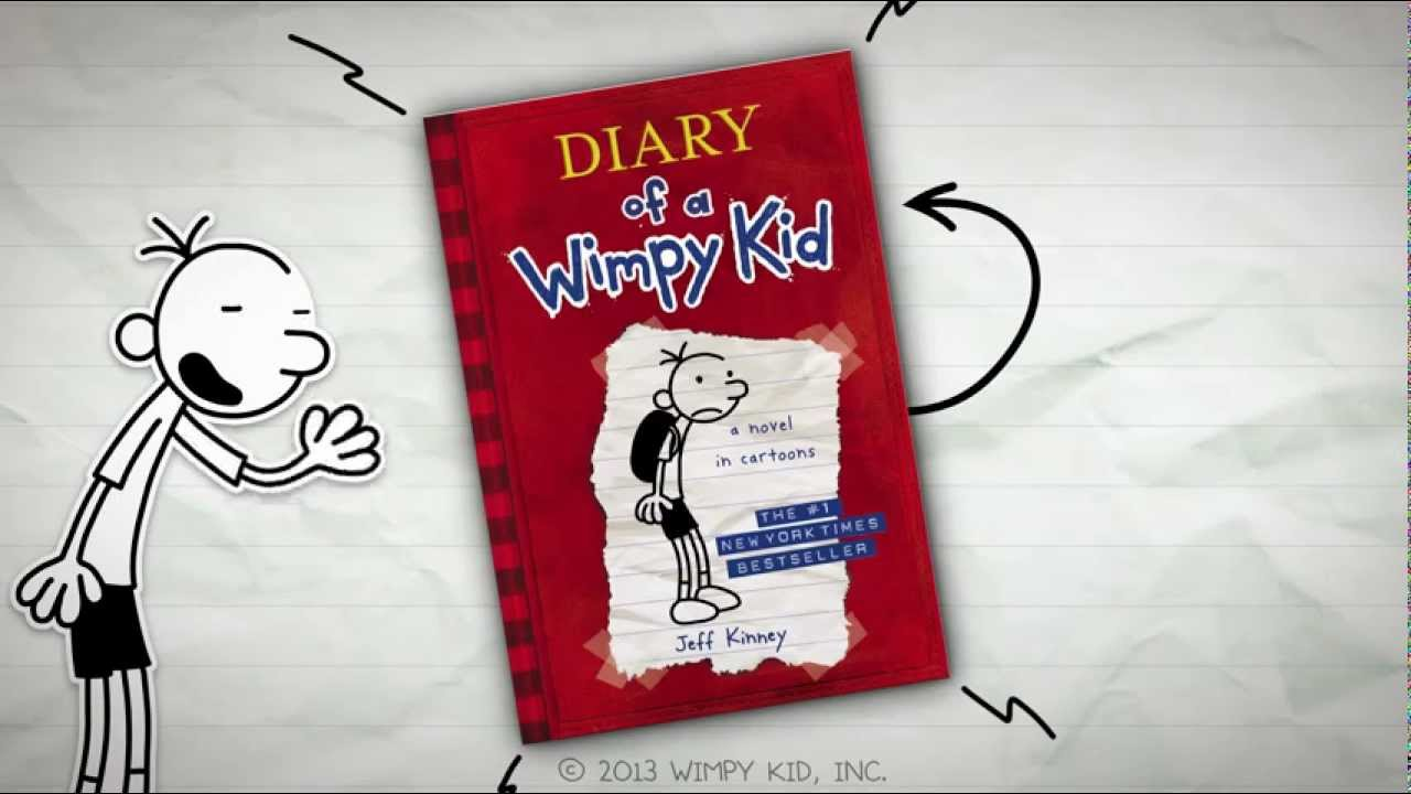 Every Diary Of A Wimpy Kid Book