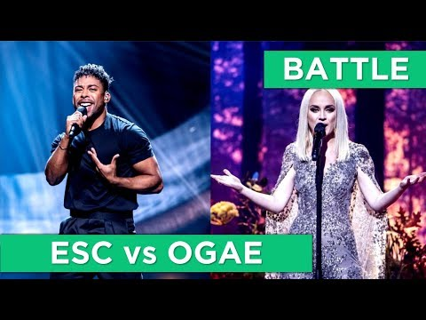 BATTLE | Eurovision 2019 vs OGAE Second Chance Contest 2019