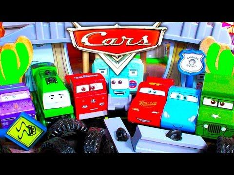 Disney Cars Radiator Springs Train Track Play Table Thomas The Tank Unstoppable Pt2