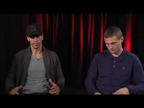 Rio Ferdinand & Nemanja Vidic Interview 2013 (Part 1)