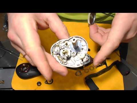 мультипликаторные катушки с центробежным и магнитным тормозом