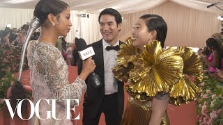 Awkwafina on Going to Her First Met Gala | Met Gala 2019 with Liza Koshy | Vogue