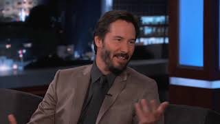 Keanu Reeves being the nicest man alive for 6 minutes straight.