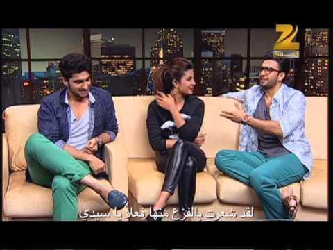 Priyanka Chopra, Ranveer Singh & Arjun Kapoor on Aalam Bollywood - part 1