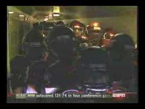 Virginia Tech vs. Clemson Entrance 10/26/2006 (ESPN)