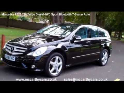 Used mercedes r320 cdi 4wd sport bluetooth 7 seater auto for Mercedes benz 7 passenger