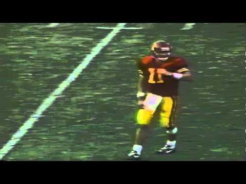 Oregon LB Paul Jensen Sacks USC QB Rob Johnson 10-01-1994