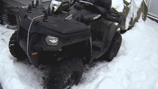 Polaris Sportsman 500 Winter Cold Start