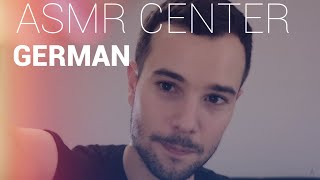 WILLKOMMEN im ASMR CENTER! (GERMAN role play)