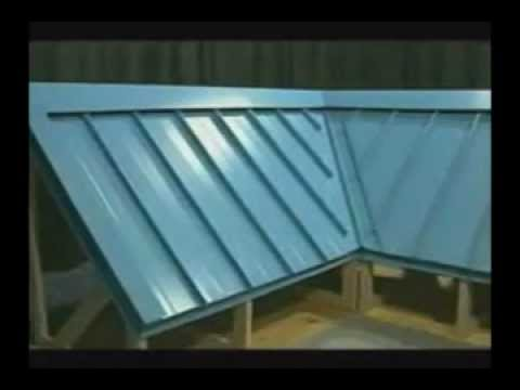 single rib diagram  how to install standing seam metal roof  by atas youtube   how to install standing seam metal roof  by atas youtube