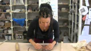 10 minute angel sculpture demonstration by Mathilda Tanner