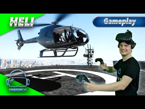 HELI - Ein Rundflug über Manhattan [Let's Play][Gameplay][German][HTC Vive][Virtual Reality]