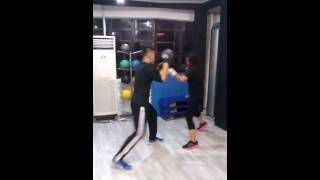 Boxing Training at Fitness Edge