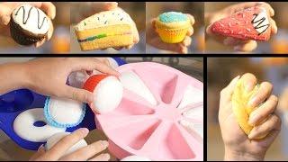 DIY : How To Make Squishies Using PU (Polyurethane) Foam (Squishy). ????? ?? ???? ?????????