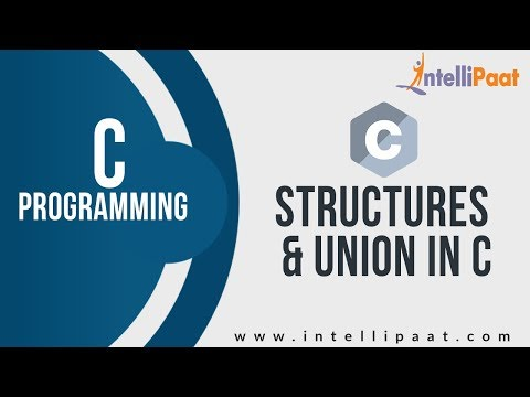 Structures & Union in C | Learn C | C Language Tutorial | Basic C Programs | Intellipaat