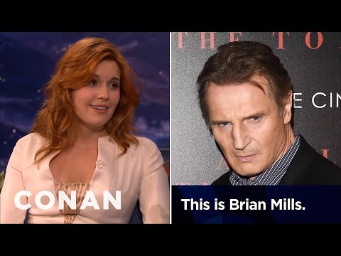 Maggie Grace: Liam Neeson Prank-Called My Ex-Boyfriend  - CONAN on TBS