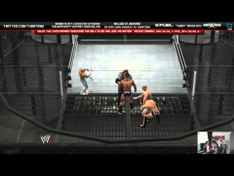 WWE 2K14 - SUBSCRIBER ELIMINATION CHAMBER! (SIN CARA!!)