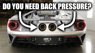 Stop Saying Car Exhausts Need Back Pressure