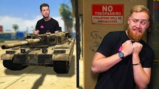 Hide and Seek with TANKS! | GTA5