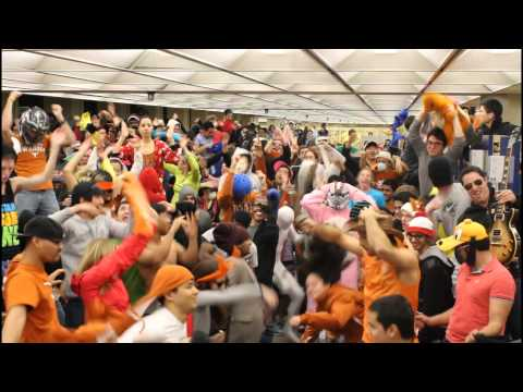 Hook 'em Horns! (or Shake 'em Horns) Thanks to everyone for participating Song Credit: Baauer - Harlem Shake Audio: http://www.youtube.com/watch?v=Bk1_DbbzSd...
