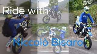 Ride with Niccolò Bisaro! Some Wheelies!