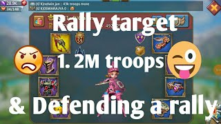 Lord's mobile :- zeroing and defending rally's by g'k