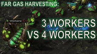 Starcraft II: Harvesting from Far Geysers