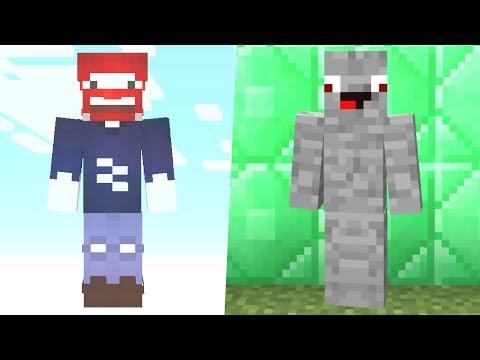 Benx als Geist im Gamemode 1 gegen Alphastein.. Minecraft Lucky Block Falle / Troll