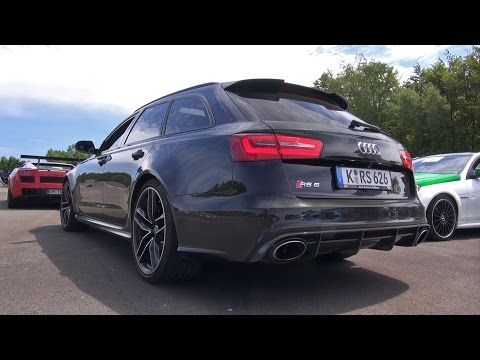 Audi Rs6 Avant C7 Vs Nissan Gtr Vs Bmw M5 Dinan Vs C55 Amg video