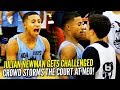 Crowd STORMS the Court after Julian Newman Gets CHALLENGED at...