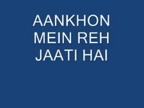 Mil Ke Bhi Bichad Jaate Hai - Kitni Mohabbat Hai video