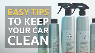 Keeping Your Car Clean | VW Tips