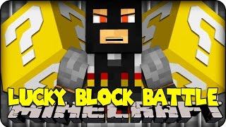 Minecraft - LUCKY BLOCK BOSS CHALLENGE - CRIMINAL! (Lucky Block Mod )