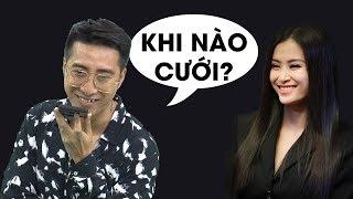 """Only C hỏi """"Khi nào cưới"""" và phản ứng cực đáng yêu của Đông Nhi"""
