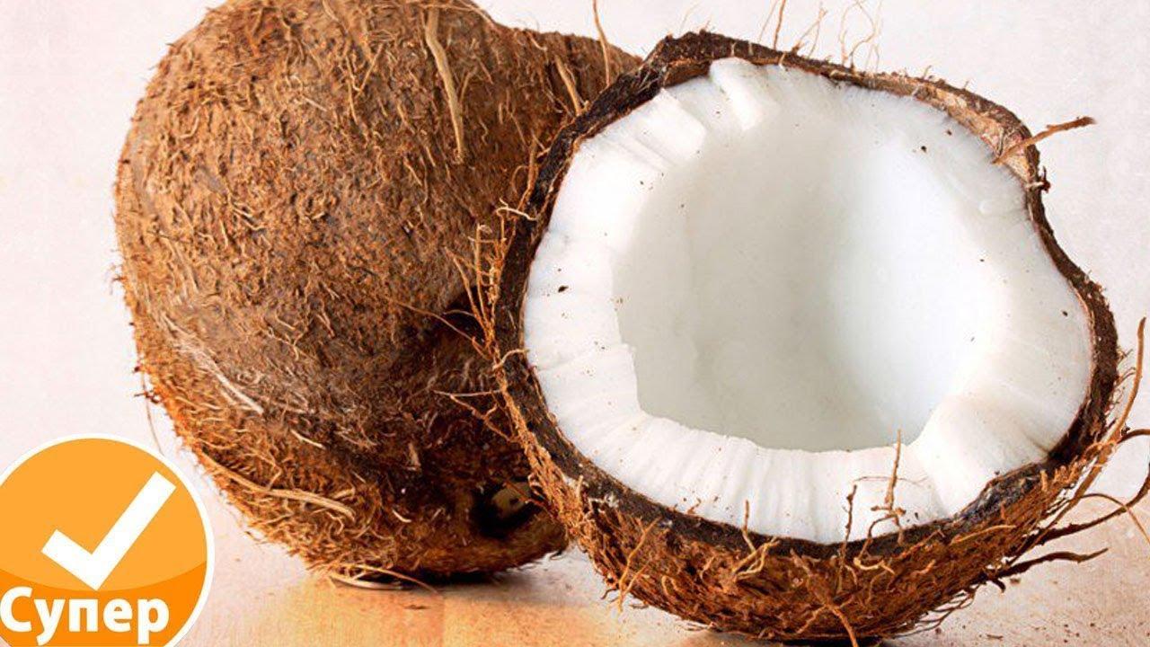 Как раздолбить кокос в домашних условиях