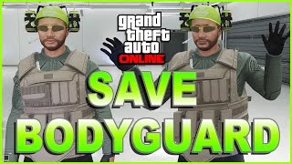 GTA 5 Online - Best VIP Bodyguard Outfit Glitch! Save Any Bodyguard Uniform! GTA 5 Glitches!