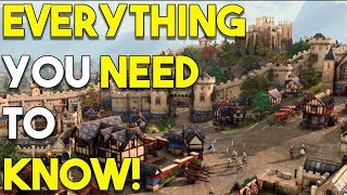 Everything You Need To Know About Age Of Empires 4!
